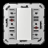 [A/AS]F50 Universal Push-Button Module 3-Gang