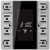 [LS]F50 Room Controller Display Compact Module 2-Gang