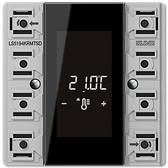 [LS]F50 Room Controller Display Compact Module 4-Gang