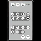 IR remote control for Universal Detectors