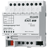 KNX Analogue Actuator 4-G - 2204.01 REGA