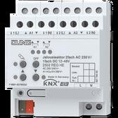 KNX Blinds Actuator 2-G AC 110-230V / 1-G DC 12-48V - 2502 REGHE
