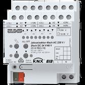 KNX Blinds Actuator 4-G AC 110-230V / 2-G DC 12-48V - 2514 REGHE