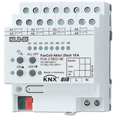 KNX Fan Coil Actuator 2-G - FCA 2 REGHE