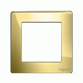 1G KNX Frame Ultimate Screwless - Polished Brass