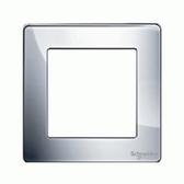 1G KNX Frame Ultimate Screwless - Polished Chrome