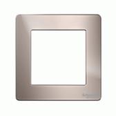 1G KNX Frame Ultimate Screwless - Pearl Nickel