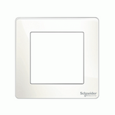 1G KNX Frame Ultimate Screwless - Painted White