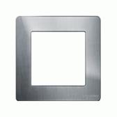 1G KNX Frame Ultimate Screwless - Stainless Steel