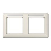 [AS]Frame with Window for Inscription Module for Horizontal Installation