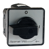 Front Panel Mounted Rotary CAM Switch 0-1 / 16A / IP65