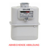 Itron Single Adapter Gas Meter RF1c