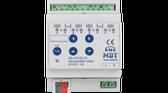 KNX Shutter Actuator 4F 8A 24VDC