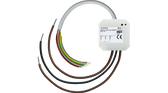 KNX Shutter Actuator 1F Flush Mounted 6A 230VAC with 4 binary inputs