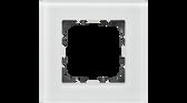 55mm Glass Cover Frames White
