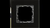 55mm Glass Cover Frames Black