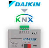 Daikin AC Domestic units to KNX Interface with binary inputs - 1 unit