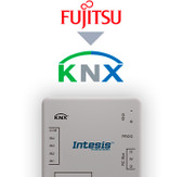 Fujitsu RAC and VRF systems to KNX Interface with binary inputs - 1 unit