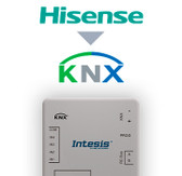 Hisense VRF systems to KNX Interface with binary inputs - 1 unit