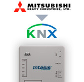 Mitsubishi Heavy Ind. FD and VRF to KNX Interface with Binary Inputs - 1 unit