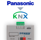 Panasonic Etherea AC units to KNX Interface with Binary Inputs - 1 unit