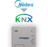 Midea Commercial & VRF systems to KNX Interface - 16/64 units