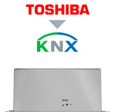 Toshiba VRF systems to KNX Interface - 16/64 units
