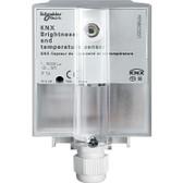 KNX Brightness & Temperature Sensor - MTN663991