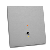 ANNA CARRE - 1 LEVER (DOUBLE PUSH-BUTTON) KNX WITH LEDS