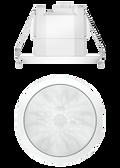 theRonda S360 KNX FLAT DE WH
