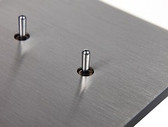 ANNA CARRE - 2 LEVERS (DOUBLE PUSH-BUTTON) KNX NO LEDS