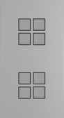 LOLA CARRE - 8 PUSH-BUTTONS KNX NO LEDS VERTICAL