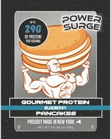 Blueberry High Protein Pancakes