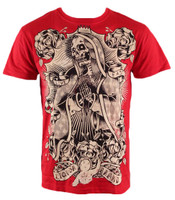 Dead guadelupe red liquorbrand t-shirt