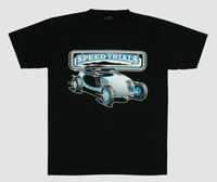 Front - Speed trails hotrod t-shirt