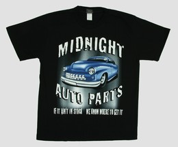 Auto parts hotrod t-shirt