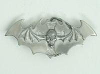 Bat skull small buckle