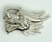 Dragon head small buckle