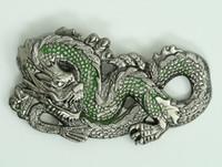 Dragon green small buckle