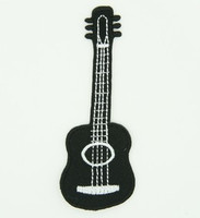 Guitar black things of the world big