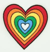 Heart rainbow things of the world big