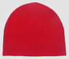 Fire V grey-red mix beanie