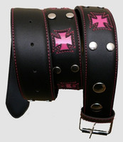 Herocross pink mix belt