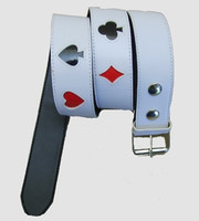 Poker big white mix belt