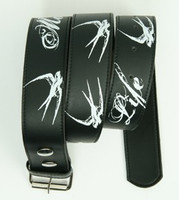 Marked for life black-white mix belt