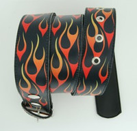Fire black mix belt