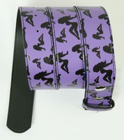 Lady purple mix belt