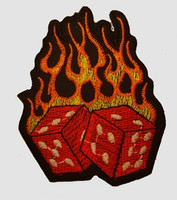 Dice fire things of the world extra big