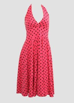 Dot L pink marilyn dress