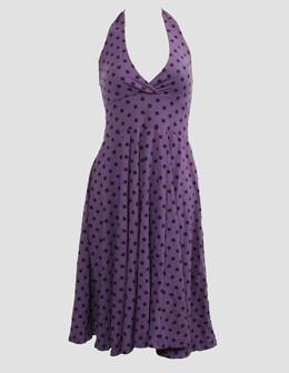 Dot L purple marilyn dress